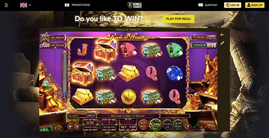 Slot Kings Chance Casino